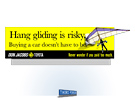 Don Jacobs Billboard - Hang Gliding by Milwaukee ad agency