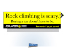 Don Jacobs Billboard - Rock Climbing by Milwaukee ad agency