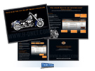 Harley-Davidson H-DNet.com Corporate Brochure, Milwaukee Advertising Agencies