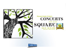 Wisconsin Chamber Orchestra Concerts on the Square T-Shirt, Wisconsin Advertising Agencies