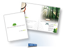 SurfaceWorks EcoWood Brochure, Milwaukee Advertising Agencies