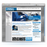 New UNISIG Manufacturing Web Site Created by of of Milwaukee Web Site Designers Soars in Google Through Sound Search Engine Optimization Priciples